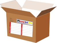 Balikbayan Box XXL (empty carton with papers)