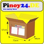 Balikbayan Box XXL Leerkarton 73x44x57cm